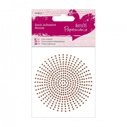 2mm Adhesive Stones (424pcs) - Bronze (PMA 351625)
