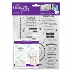 A5 Clear Stamp Set (30pcs) - Verses (DCE 907109)