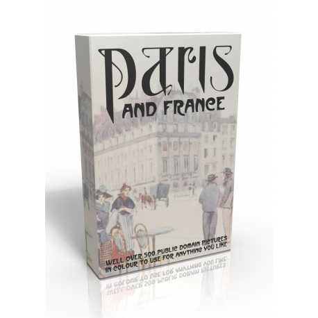 Public Domain Image DVD - Paris & France