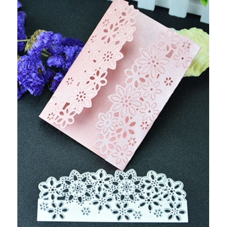 Printable Heaven die - Fancy Edger, Flowers (1pc)