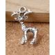 Metal Charms - Reindeer (6)