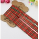 Tartan ribbon pack (3pcs)