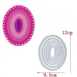 Printable Heaven dies - Fancy Nesting Ovals