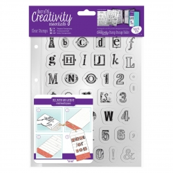 DCE 907131 A5 Clear Stamp Set (41pcs) - Alphabet