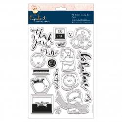 FFS 907136 A5 Clear Stamp Set (19pcs) - Forever Friends - Opulent