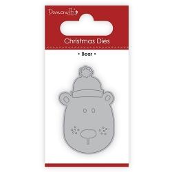 Dovecraft Christmas Die - Christmas Bear (DCDIE110X17)