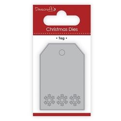 Dovecraft Christmas Die - Tag (DCDIE106X17)