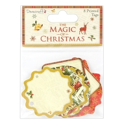 Dovecraft The Magic of Christmas Printed Tags (DCTOP074X17)