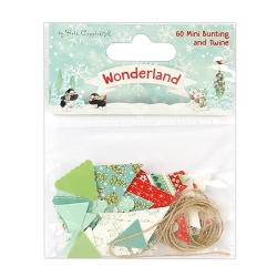 Helz Cuppleditch Wonderland Mini Bunting and Twine (HCTOP011X17)