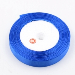 6mm Satin Ribbon - Royal Blue (25 yards)