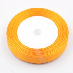 6mm Satin Ribbon - Golden Yellow (25 yards)