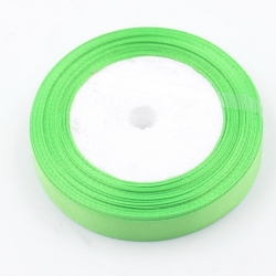 6mm Satin Ribbon - Spring Green (25 yards)