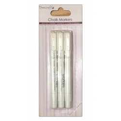Dovecraft Chalk Markers - White (DCCLK005)