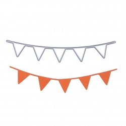 Printable Heaven die - Bunting (1pc)