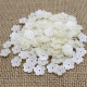 Delicate Pearl Flowers - Ivory (100pcs)