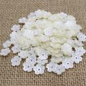 Mini Pearl Flowers - Ivory (100pcs)