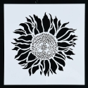 Reusable Stencil - Sunflower (1pc)