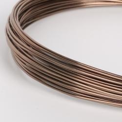 18 Gauge (1mm) Aluminium Wire - Bronze (10m)