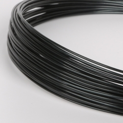 18 Gauge (1mm) Aluminium Wire - Black (10m)