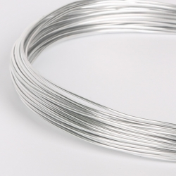 18 Gauge (1mm) Aluminium Wire - Silver (10m)