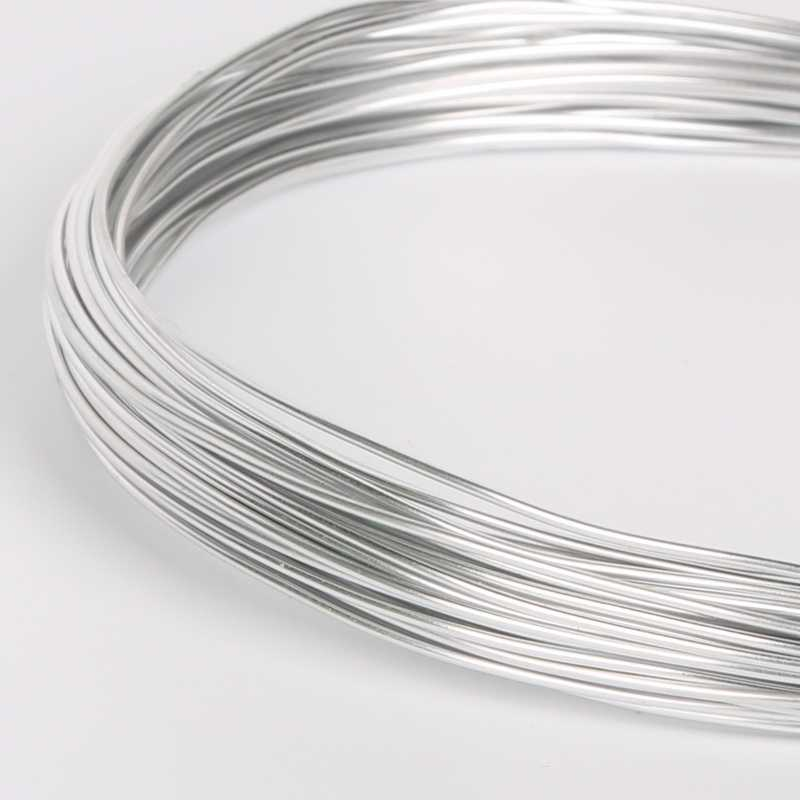 18 gauge 1mm aluminium wire silver 10m printable for 10 gauge craft wire