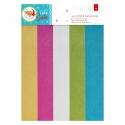 A4 Glitter Paper Pack (15pk) - Love Santa (PMA 160957)