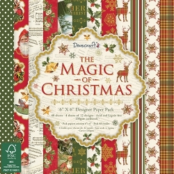Dovecraft The Magic of Christmas FSC 6x6 Paper Pack (DCPAP069X17)