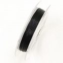 Coloured 0.3mm Beading Wire - Black (10m)
