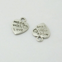 Metal Charms - Made with Love (18)