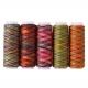 Multi-coloured threads (5 reels)