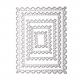 Printable Heaven dies - Nesting Postage Stamps