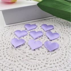 Padded Hearts - Lilac (30pcs)