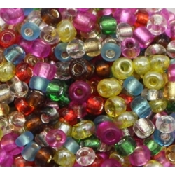 2mm Glass Seed Beads - Assorted (1000pcs)