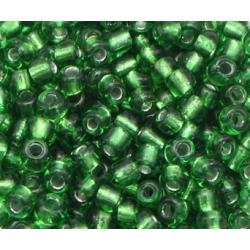 2mm Glass Seed Beads - Green (1000pcs)