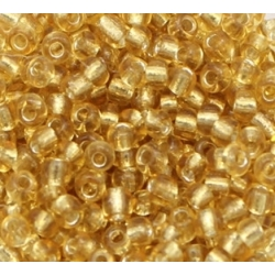 2mm Glass Seed Beads - Gold (1000pcs)