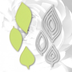 Printable Heaven dies - Nesting Leaves (9pcs)