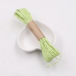 Paper Twine - Light Green (10m)
