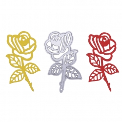 Printable Heaven die - Stemmed Rose (1pc)