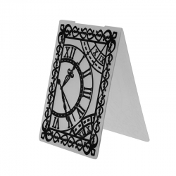 A6 Embossing folder - Clocks