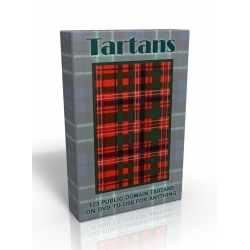 Public Domain Image DVD - Tartans