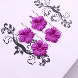 Silk 2.5cm Flower-heads - Magenta (100pcs)