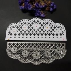 Printable Heave die - Fancy Edger, Lattice Flowers (1pc)