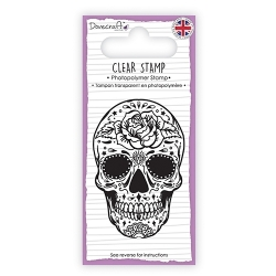 DCSTP105 Dovecraft Clear Stamp - Sugar Skull