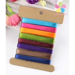 Ribbon Assortment - Satin Brights (5pcs)