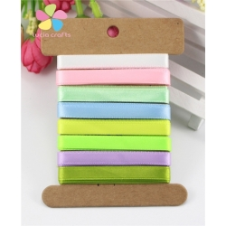 Ribbon Assortment - Satin Pastels (5pcs)
