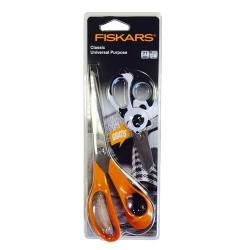 Fiskars Classic Scissors Universal Purpose 21cm with FREE Animal scissors (FI98531382)