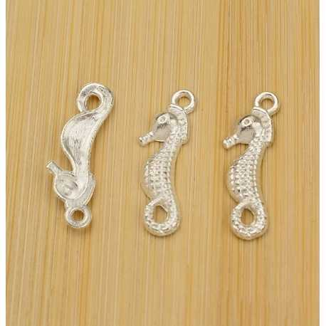 Metal Charms - Seahorse (10)