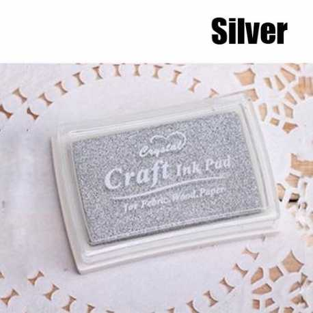 Ink Pad - Silver