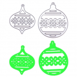 Printable Heaven dies - Two Small Baubles (2pcs)
