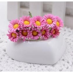 Mini Silk Daisy Bunch (10 flowers)